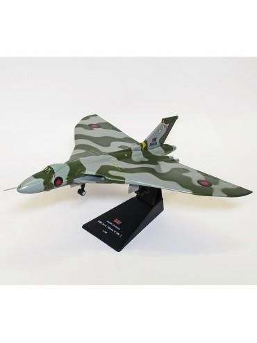 Avro Vulcan RAF High Altitude Strategic Bomber Wooden Executive Desktop Model.