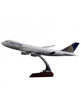 47cm United Airlines 747
