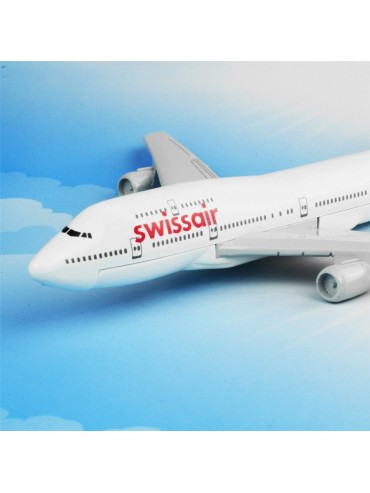 SWISS Air Boeing 747