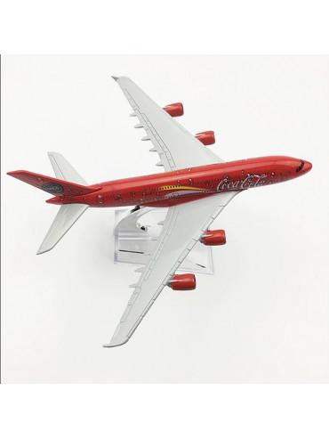 Coca Cola Airbus A380